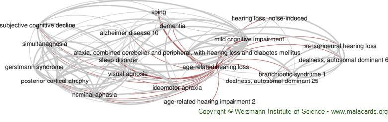 Diseases related to Age-Related Hearing Loss