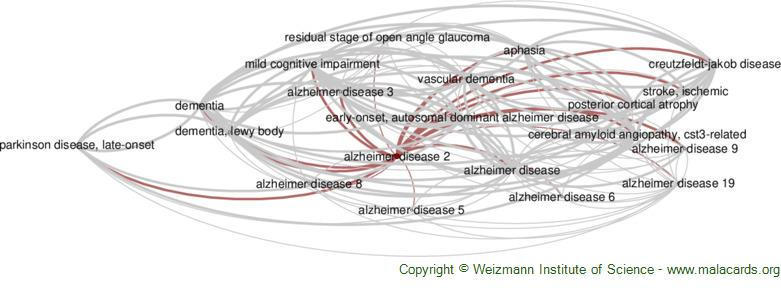 Diseases related to Alzheimer Disease 2