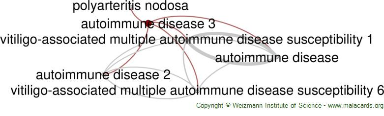 Diseases related to Autoimmune Disease 3