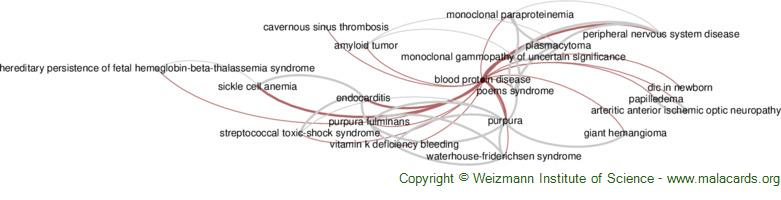 Diseases related to Blood Protein Disease