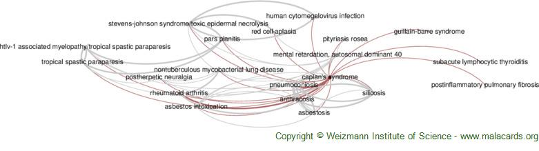 Diseases related to Caplan's Syndrome