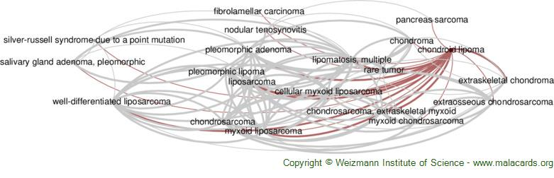 Diseases related to Chondroid Lipoma