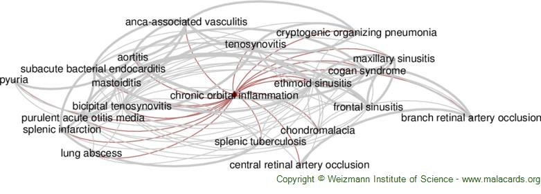 Diseases related to Chronic Orbital Inflammation