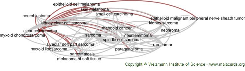 Diseases related to Clear Cell Sarcoma