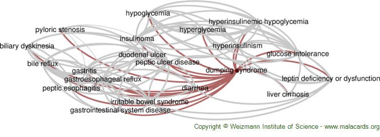 Diseases related to Dumping Syndrome