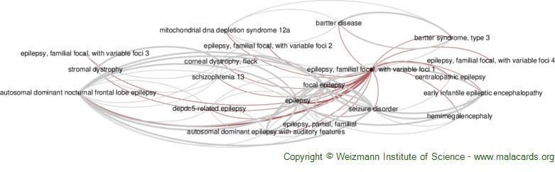 Diseases related to Epilepsy, Familial Focal, with Variable Foci 1