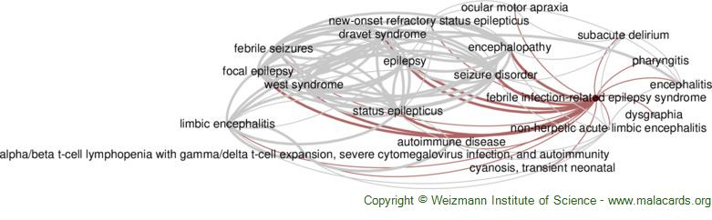 Diseases related to Febrile Infection-Related Epilepsy Syndrome