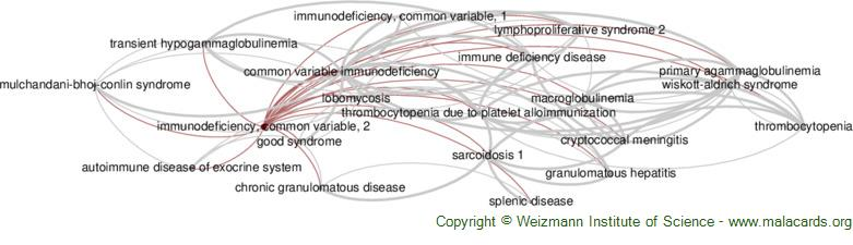 Diseases related to Immunodeficiency, Common Variable, 2