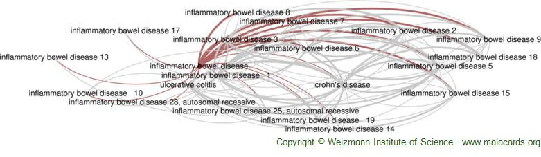 Diseases related to Inflammatory Bowel Disease