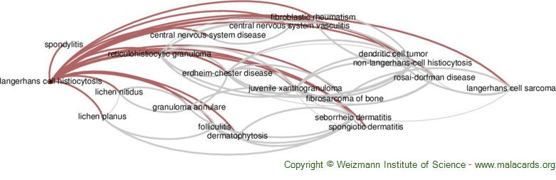 Diseases related to Langerhans Cell Histiocytosis