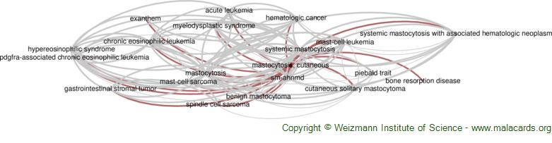 Diseases related to Mastocytosis, Cutaneous