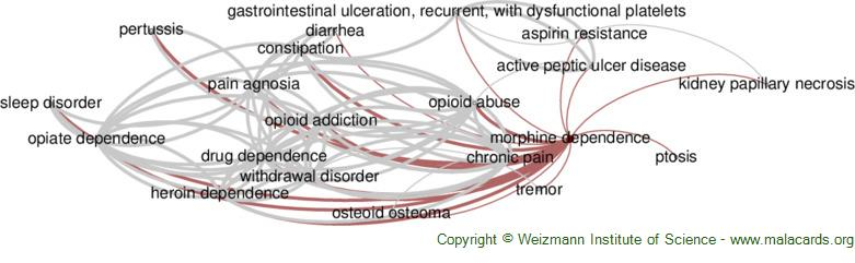 Diseases related to Morphine Dependence