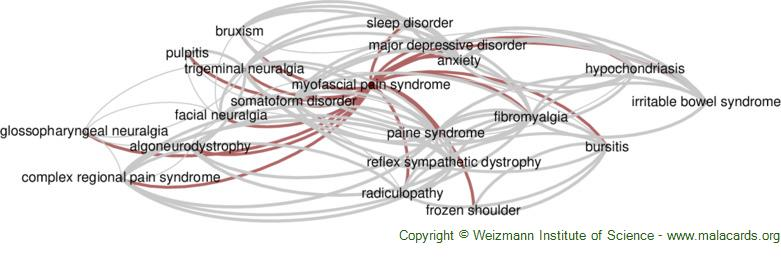 Diseases related to Myofascial Pain Syndrome