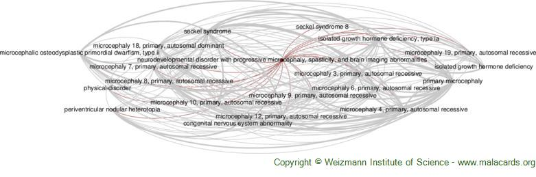 Diseases related to Neurodevelopmental Disorder with Progressive Microcephaly, Spasticity, and Brain Imaging Abnormalities