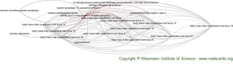 Diseases related to Obesity Due to Melanocortin 4 Receptor Deficiency