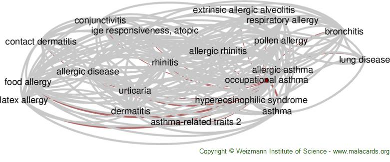 Diseases related to Occupational Asthma