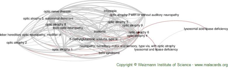 Diseases related to Optic Atrophy 6