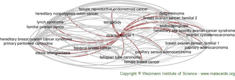 Diseases related to Ovarian Cancer 1