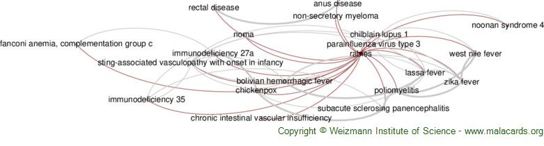 Diseases related to Rabies