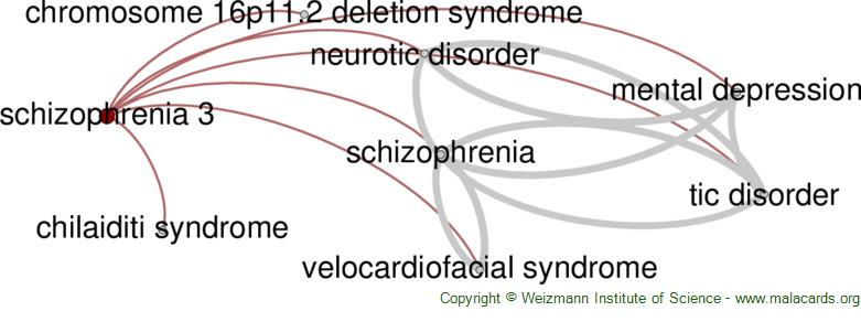 Diseases related to Schizophrenia 3