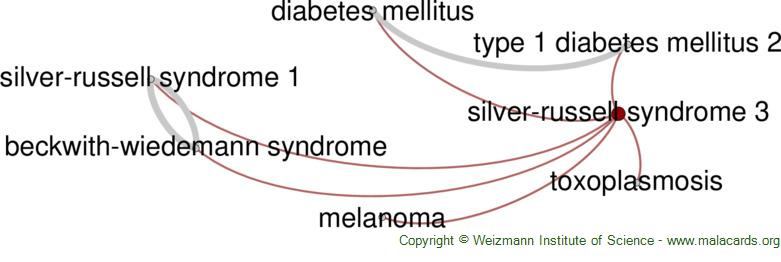 Diseases related to Silver-Russell Syndrome 3