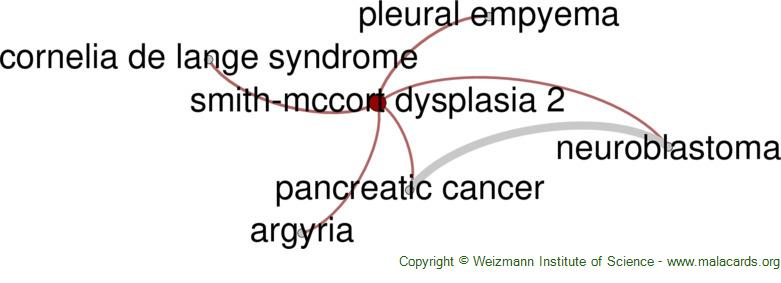 Diseases related to Smith-Mccort Dysplasia 2