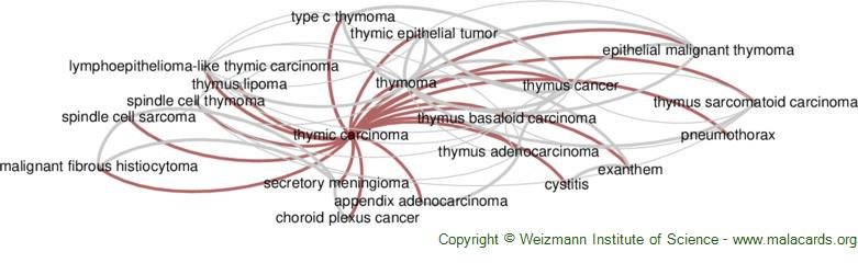 Diseases related to Thymic Carcinoma