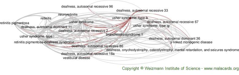 Diseases related to Usher Syndrome, Type Ik