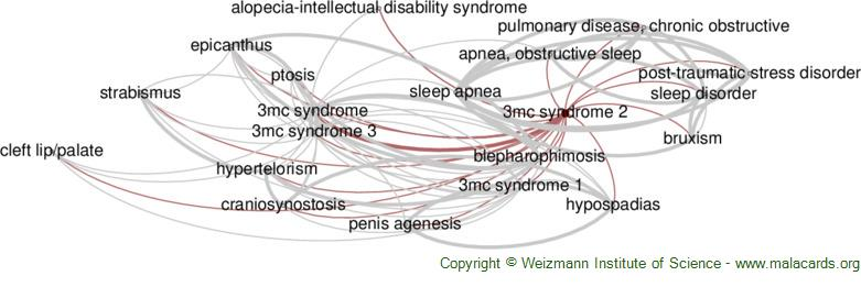 Diseases related to 3mc Syndrome 2