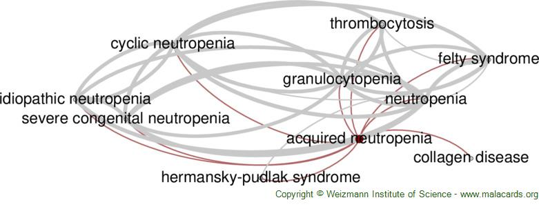 Diseases related to Acquired Neutropenia