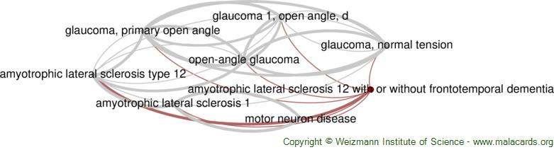 Diseases related to Amyotrophic Lateral Sclerosis 12 with or Without Frontotemporal Dementia