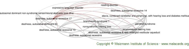 Diseases related to Deafness, Autosomal Recessive 17