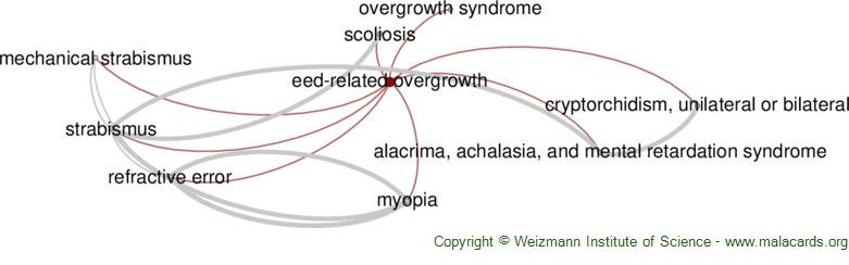 Diseases related to Eed-Related Overgrowth