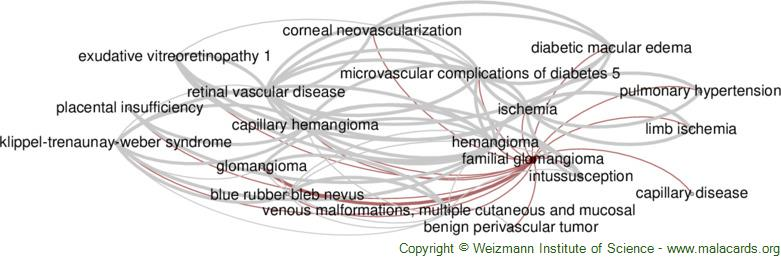 Diseases related to Familial Glomangioma