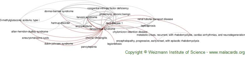 Diseases related to Fanconi-Like Syndrome