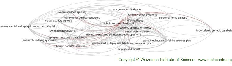 Diseases related to Febrile Seizures, Familial, 5
