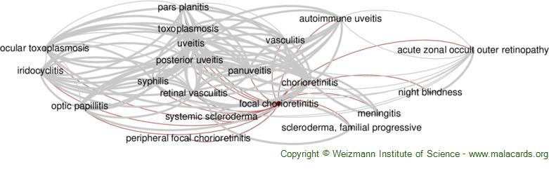 Diseases related to Focal Chorioretinitis