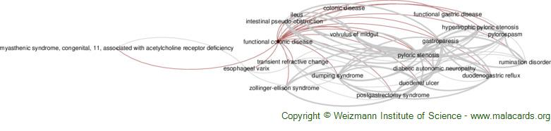 Diseases related to Functional Colonic Disease