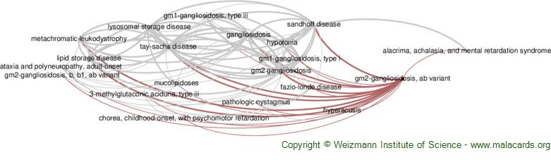 Diseases related to Gm2-Gangliosidosis, Ab Variant