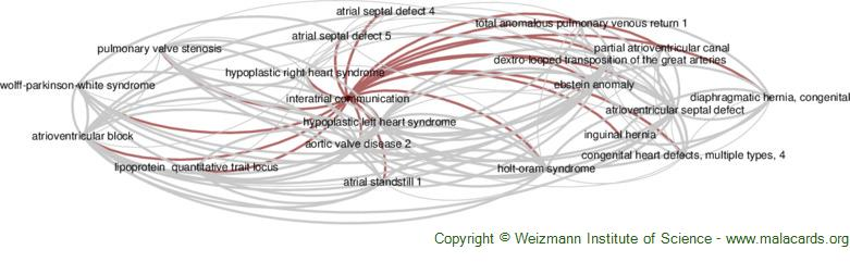 Diseases related to Interatrial Communication