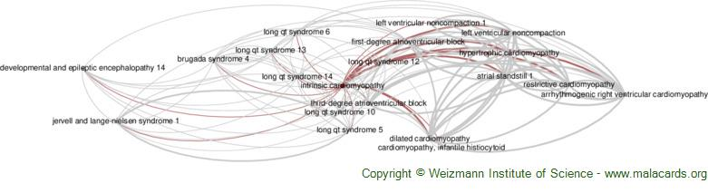 Diseases related to Intrinsic Cardiomyopathy