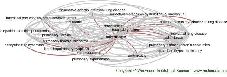 Diseases related to Lung Disease