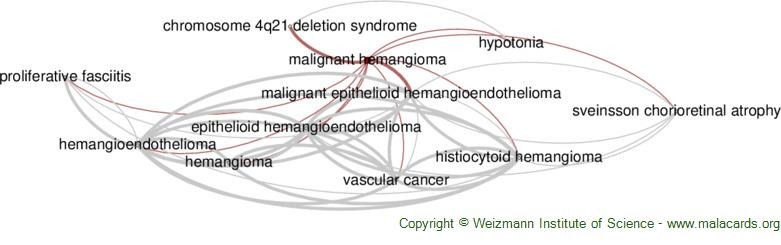 Diseases related to Malignant Hemangioma