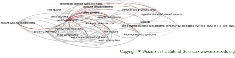 Diseases related to Mast-Cell Sarcoma