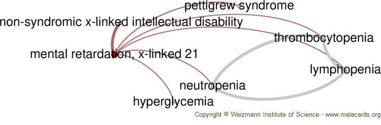 Diseases related to Mental Retardation, X-Linked 21
