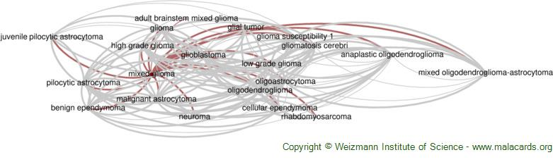Diseases related to Mixed Glioma