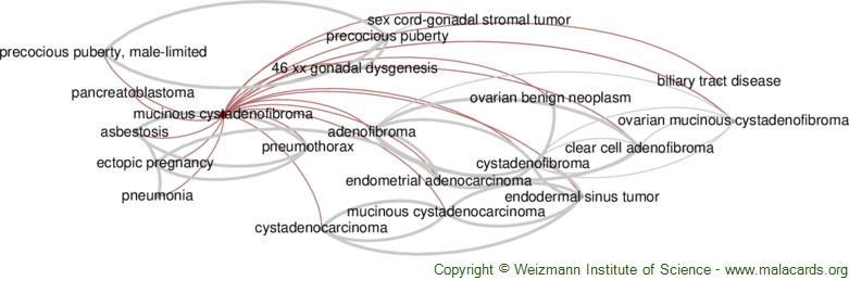 Diseases related to Mucinous Cystadenofibroma