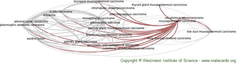 Diseases related to Mucoepidermoid Carcinoma