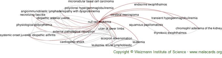 Diseases related to Null-Cell Leukemia