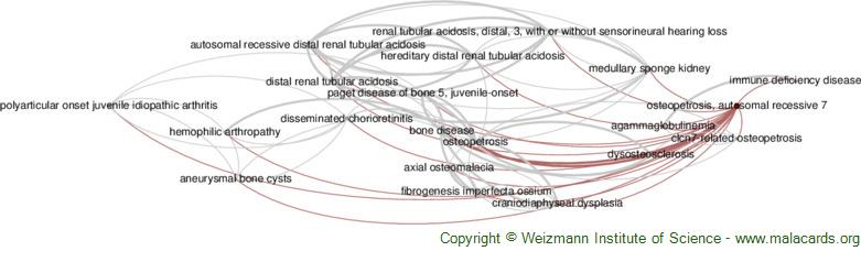 Diseases related to Osteopetrosis, Autosomal Recessive 7